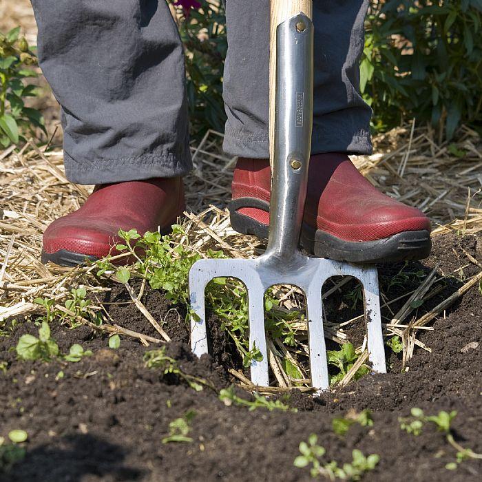 Вилы садовые для копки земли Sneeboer, нержавеющая сталь