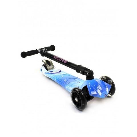 Трехколесный самокат Triumf Active Maxi Plus Print Dolfin