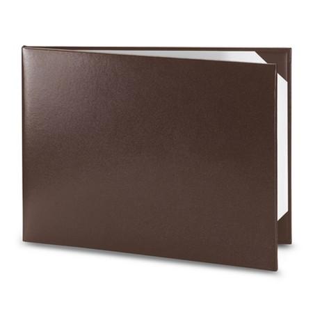 Обложка / корочка «Колор» для диплома или сертификата (коричневая)