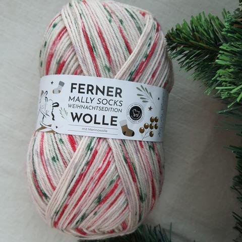 Ferner Wolle Mally Socks Weihnachts 20 купить