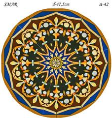 Эскиз для росписи, Круг диаметр-47,5см, SMAR-st-42