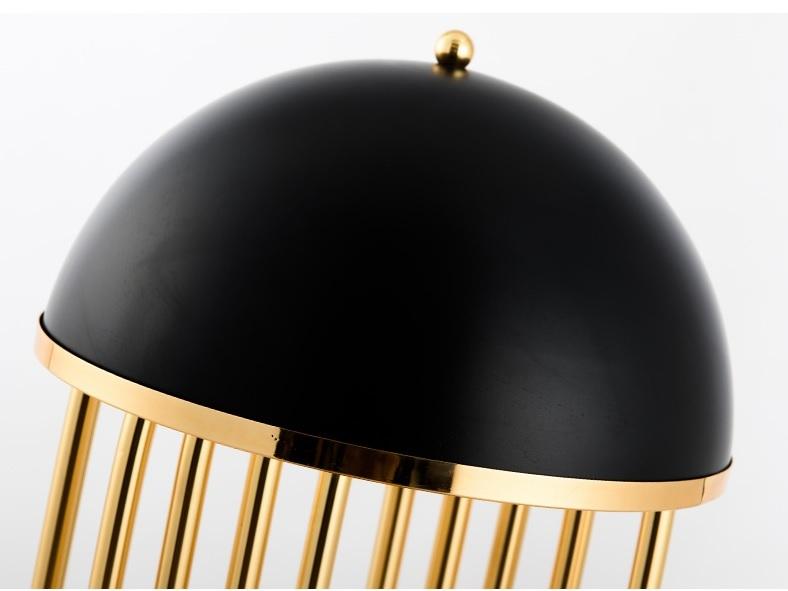 Настольный светильник копия Turner by Delightfull (черный)