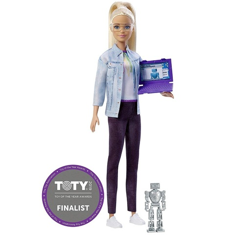 Барби Инженер по Робототехнике Блондинка