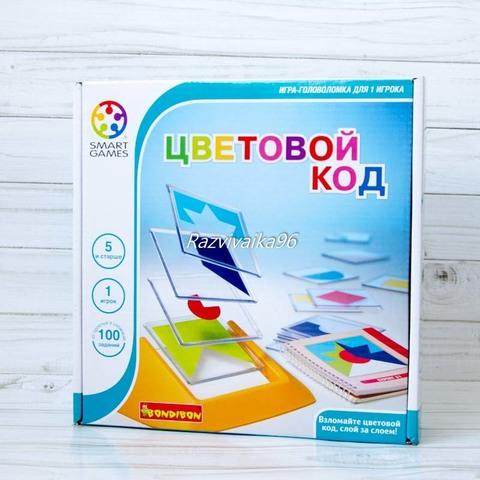 Bondibon Обучающая игра Цветовой код