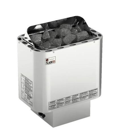 Электрическая печь SAWO NORDEX MINI NRMN-23NI2-Z (2,3 кВт, выносной пульт, внутри оцинковка, снаружи нержавейка)