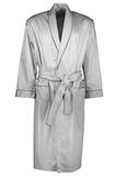 Длинный мужской халат серебряного цвета Zimmerli