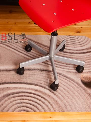 Защитный коврик под кресло 900x1200 мм «дзен»