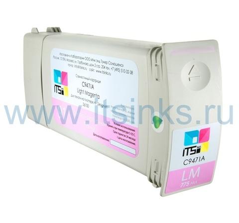 Картридж для HP 91 (C9471A) Light Magenta 775 мл