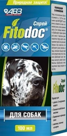 Фитодок спрей для собак