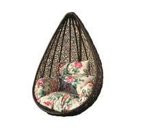 Подвесное кресло плетенное Princessa без стойки