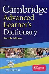 C Adv Learner's Dict 4Ed Ppr +R