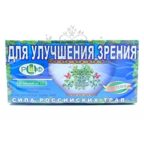 Фитосанитарная сила русских трав Н40 для улучшения зрения 1,5 Н20, ф / п