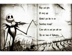 Постер Арт Кошмар перед Рождеством — Poster Art The Nightmare Before Christmas