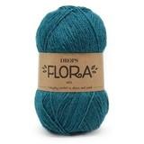 Пряжа Drops Flora 11 петроль