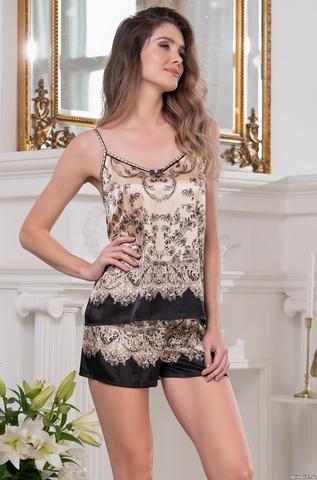 Пижама женская шелковая Mia-Amore  PENELOPA ПЕНЕЛОПА 3692