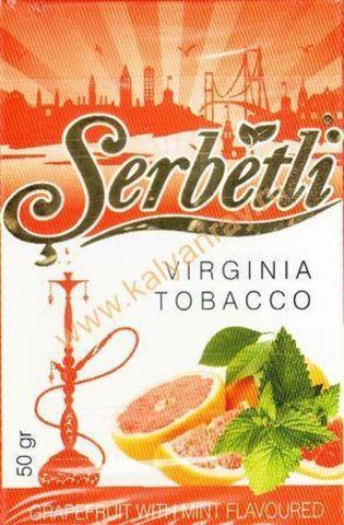 Serbetli Grapefruit with mint