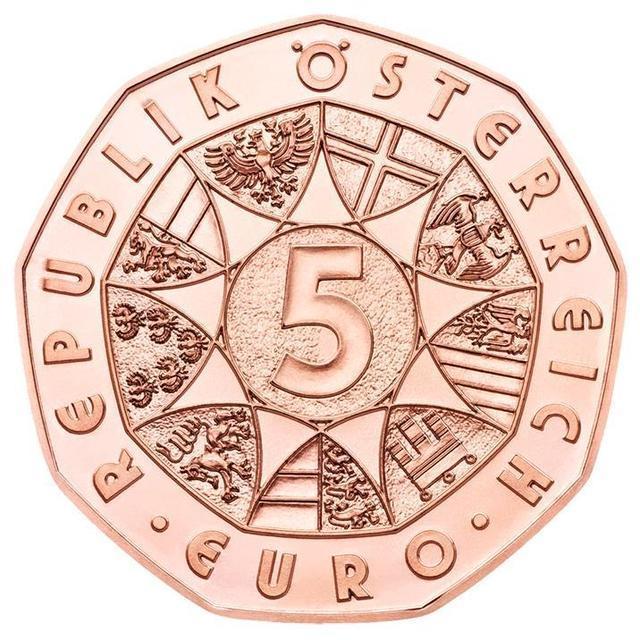 5 евро Австрия