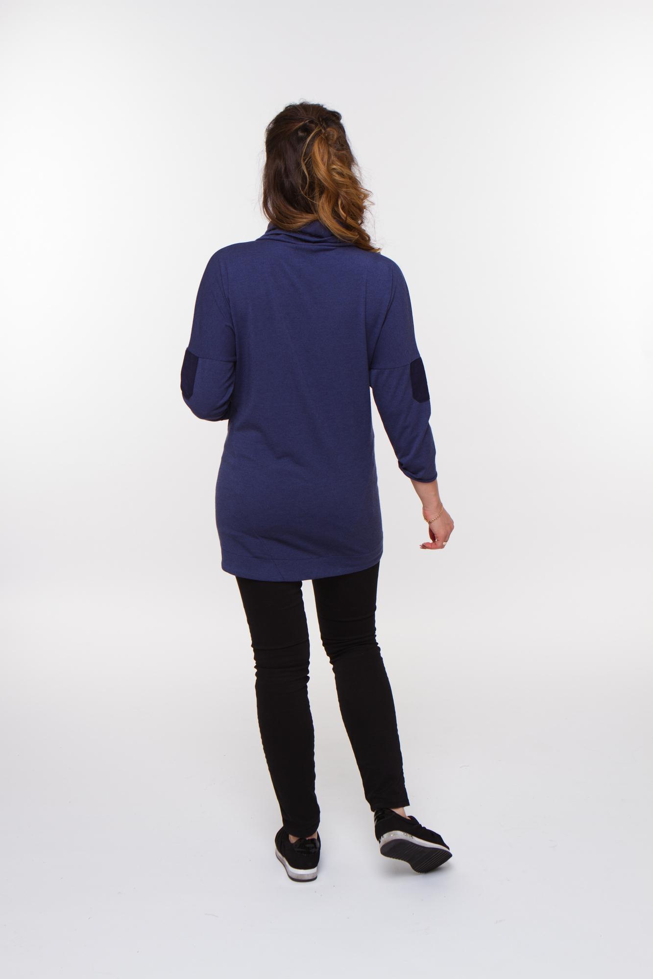 Джемпер для беременных 08323 джинса