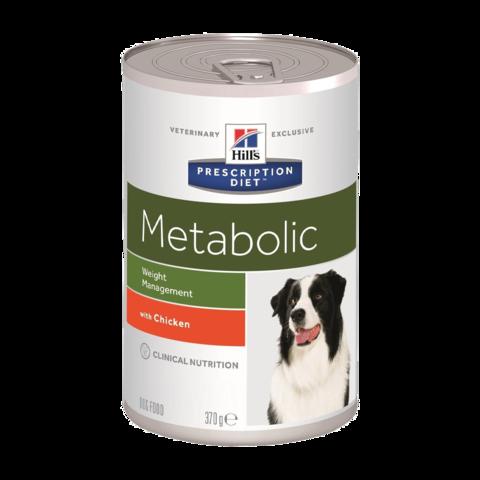 Hill's Prescription Diet Metabolic Консервы для собак при коррекции веса (Банка)