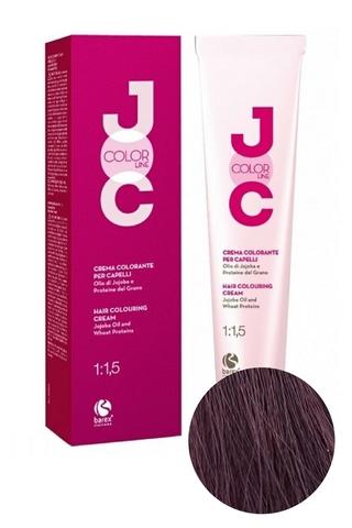 Крем-краска для волос 5.5 светло-каштановый махагоновый JOC COLOR, Barex