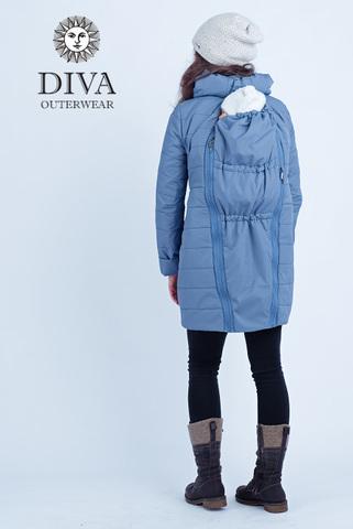Куртка 4в1 зимн. Diva Outerwear Notte для беременных и слингоношения