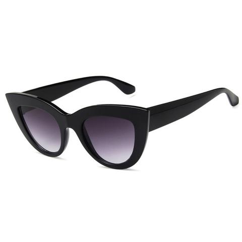 Солнцезащитные очки 18004004s Черный глянцевый - фото