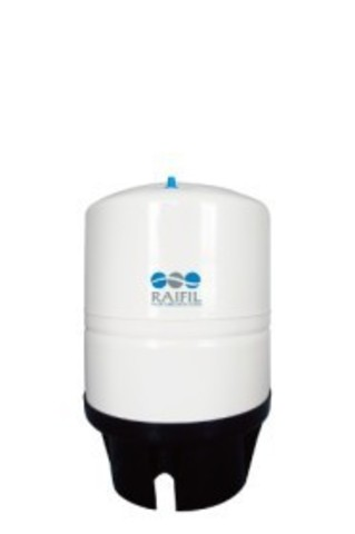 Накопительная емкость металлическая ROT-11W (объем 11 Gal/40 литров, белый), Райфил