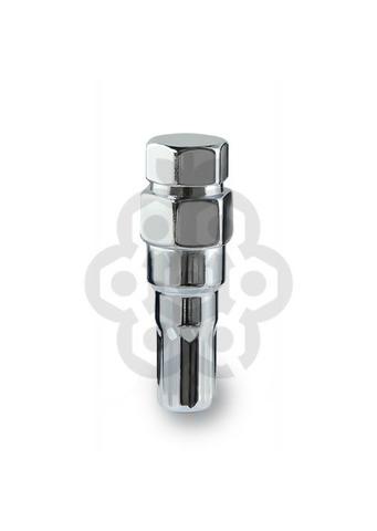 Ключ переходник 10-гранный длина=61мм ключ=17/19 мм хром