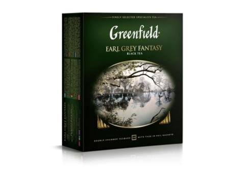 Чай черный Гринфилд Earl Grey Fantasy в пакетиках (100 шт)