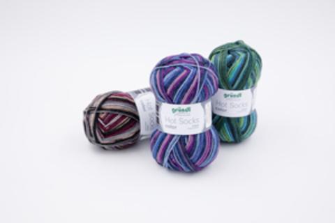 Gruendl Hot Socks Color 411