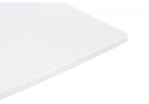 Стол деревянный кухонный, обеденный, для гостиной раскладной Arika белый 80*80*75 Белый