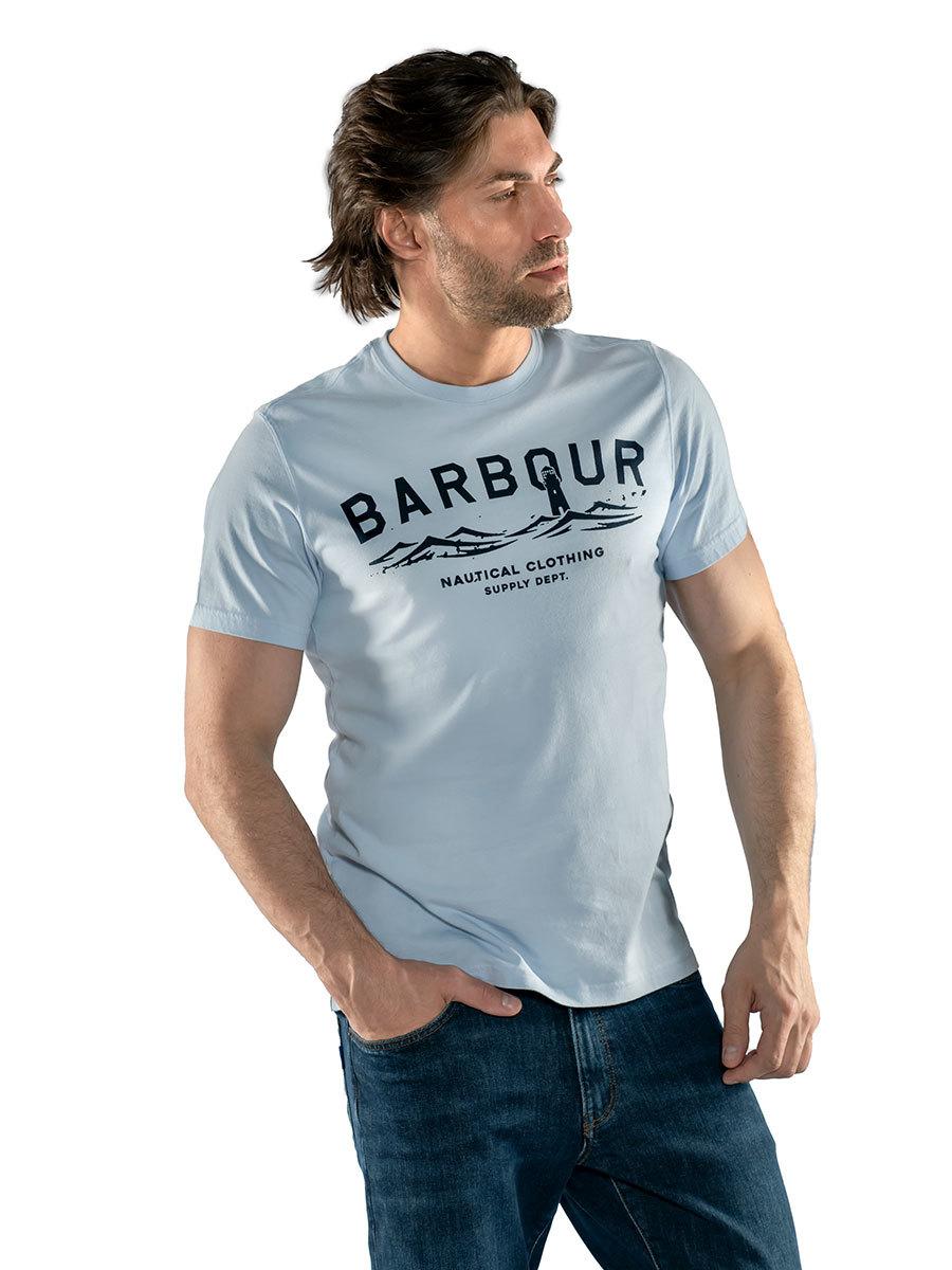 Barbour футболка Bressay Tee MTS0532/BL68