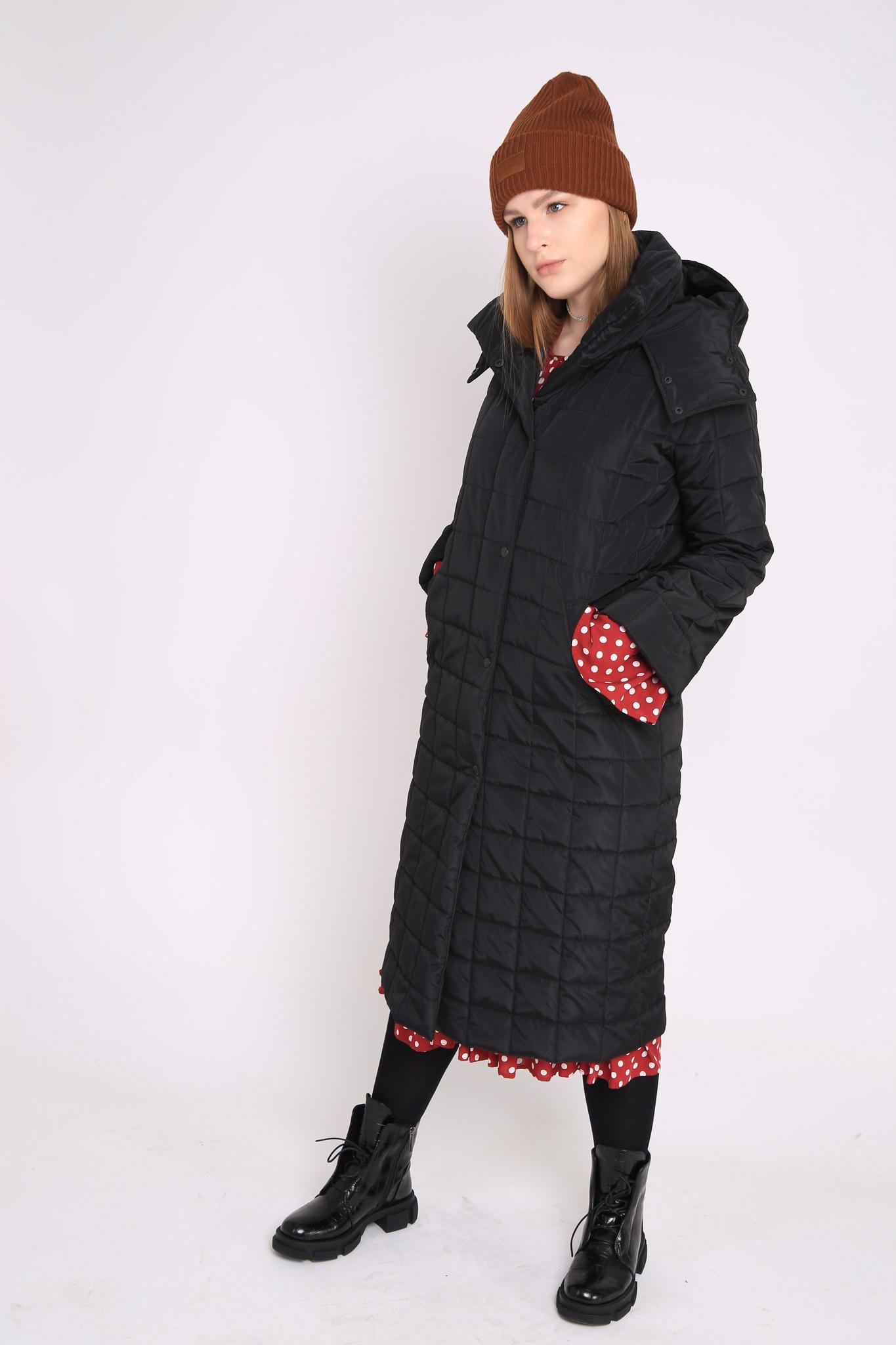 Пальто утеплённое, стёганое