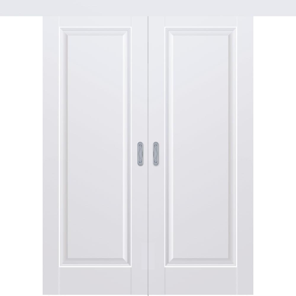 Двустворчатые раздвижные двери Межкомнатная двустворчатая дверь купе экошпон Profil Doors 93U аляска глухая 93u-alaska-dvertsovkd.jpg