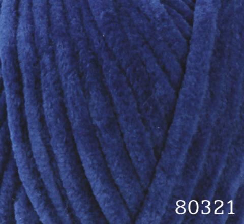 Пряжа Himalaya Dolphin Baby арт. 80321 темно-синий