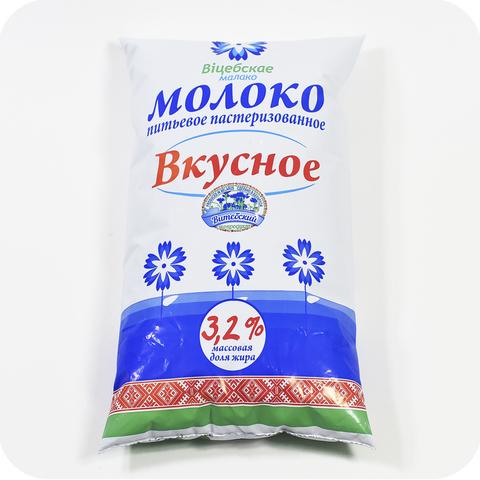 Молоко 3,2% фин-пак 1 литр г. Витебск