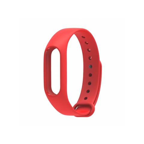Сменный браслет Xiaomi Mi Band 4 однотонный (Красный)