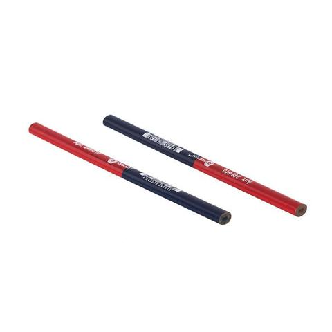 Карандаш строительный КОБАЛЬТ 2-хцветный, красный/синий 180 мм (1 шт.)