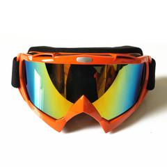 Горнолыжная маска №6 оранжевая