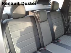 Чехлы на Renault Duster 2011–2015 г.в.