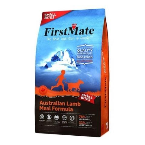 FirstMate Australian Lamb Small Bites сухой беззерновой корм для взрослых собак мелких пород с ягненком