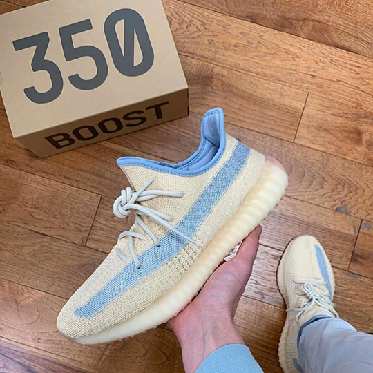Adidas Yeezy Boost 350 V2 Bege/Blue