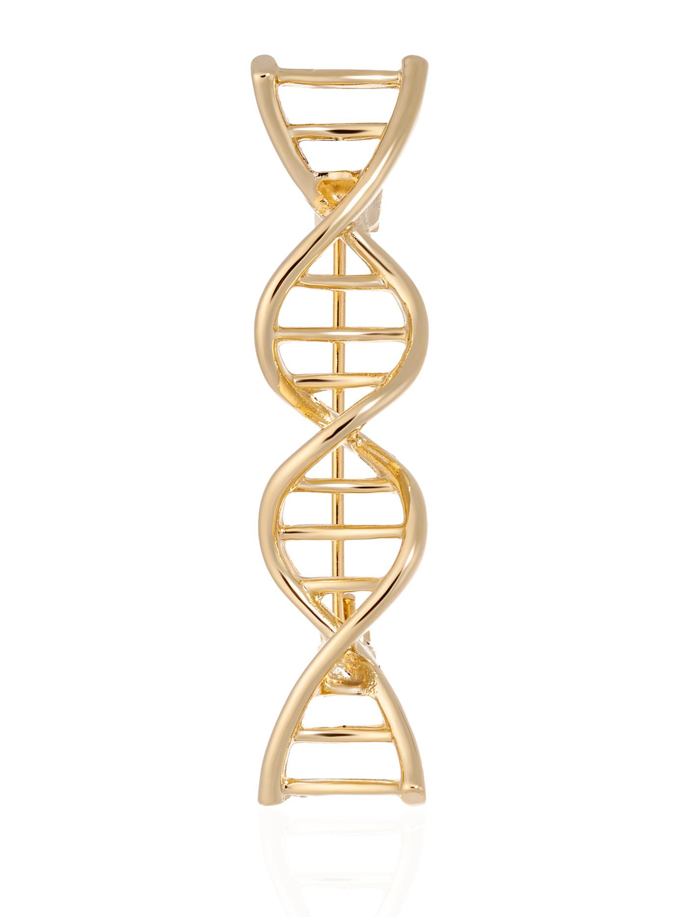 Брошь Молекула ДНК, подарок учителю
