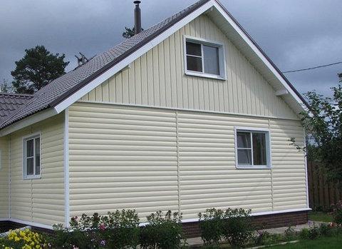 Блок хаус двухпереломный Альта-Профиль - пример