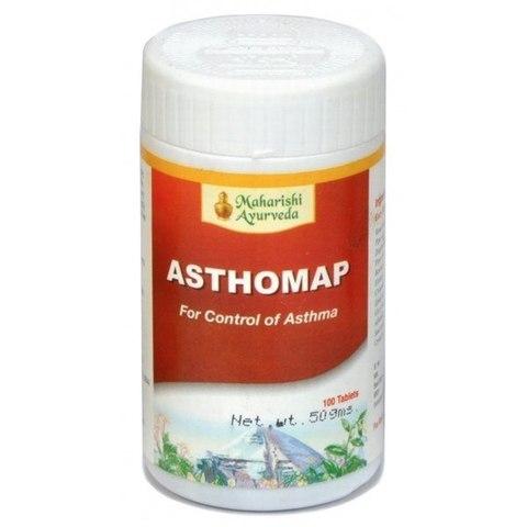 Maharishi Ayurveda Asthmap / Астхомап, 100 таб