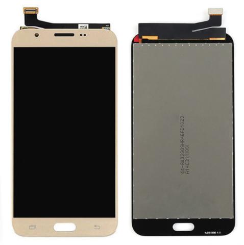 LCD SAMSUNG J7(2017) J727 + Touch Gold Orig MOQ:5