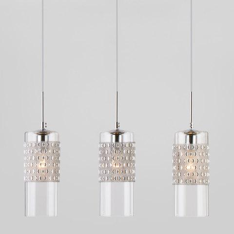 Подвесной светильник со стеклянными плафонами 50148/3