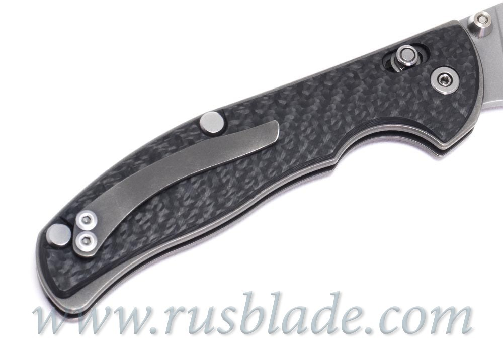 Shirogorov Tabargan 100NS S35VN 3D CF Carbon - фотография