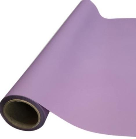 Пленка матовая (размер:65см х 10м), цвет: фиолетовый