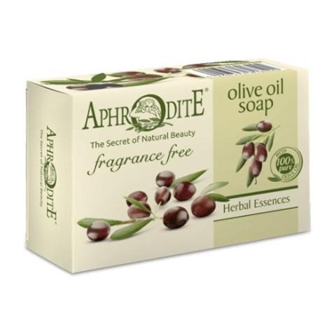 Мыло оливковое натуральное. Без отдушек.